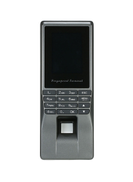 Biometric Fingerprint Attendance Recorder Black