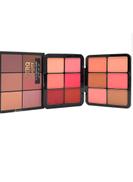 Nitrq Beauty 12-Colour Professional Blusher Palette Multicolour