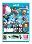 Super Mario Bros. U Plus New Super Luigi U - Nintendo Wii - Adventure - Nintendo Wii U