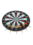 Joerex Dart Board And 6-Pieces Darts Set 17cm