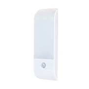Mainstayae DC5 V 1W I-ntelligent S-mart 12 L-ED مصباح خزانة يستخدم PIR Motion Inductor Sensor Sensing Light Control 3 أوضاع عمل الإضاءة مع منفذ USB C-harging