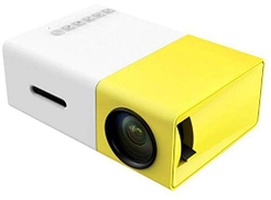Other LED Mini Portable Projector with USB SD AV HDMI Home Entertainment Projetor - Yellow