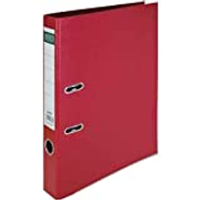 ROCO Standard Box File, 5 cm, F4 A4, Red, PP Polypropylene Pressboard 29342Red