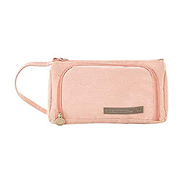 1 Pencil Case, Fashion Cute, Pen Holder Bag, Pencil Box for Women Teenagers Ladies, Canvas Storage Bag, for Teen Adult School Office, Portable Multi Function pencil Case