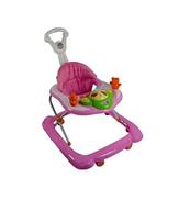 Kiko Baby Walker With wheels For Babies, Pink, 2087