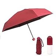 Other Pocket Umbrella Capsule Mini Travel Sun Umbrella Windproof UV Protection Umbrella Folding Golf Umbrella Lightweight