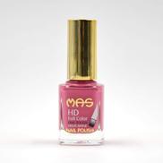 Mas High Shine Nail Polish - 12 ML, Pale Violet Red