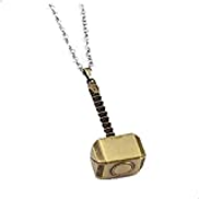 Other Men's Classic Silver Hammer Pendant Necklace