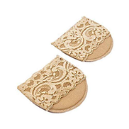 Other Forefoot Cushion, Anti-pain Foot Insoles, Anti Grinding Metatarsal Ball of Foot Pads, Nylon Sleeves, Toe Protectors Separator, Half a Code Mat, for Foot Pain Ballet Dance Lyrical