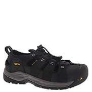 KEEN Utility mens Atlanta Ii Cooler Low Steel Toe Non Slip Work Construction Shoe, Black Steel Grey, 12 US