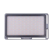 Manbily Portable RGB LED Video Light Panel Dimmable 2500K-8500K Mini Pocket Camera Fill Light with OLED Screen 360 Colors 9 Special Light Effects Built-in Battery for YouTube DSLR Camera Camcorder