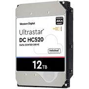 HGST WD Ultrastar DC HC520 HUH721212AL4200 12 تيرا بايت HDD 7200 دورة في الدقيقة SAS 12 جيجابت في الثانية واجهة 4Kn ISE 3.5 بوصة مركز بيانات الهيليوم محرك الأقراص الصلبة الداخلي للمؤسسات