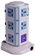 Other Tough Socket 4 USB 3m long Vertical Power Socket Multi function Plug extension charge awd