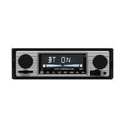 Rlsmoto Bt Vintage Radio Mp3 Player Stereo Usb Aux Classic Car Stereo Audio U Disk
