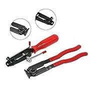 KKmoon 2 in 1 Auto CV Joint Ear Clamp Car Banding Tool Kit Set Boot Climp Pliers Boot Tie Pliers Automotive Hose Axle Plier
