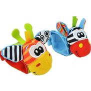Other Cartoon Baby Toys 0-12 Months Soft Animal Baby Rattles Children Infant Newborn Plush Sock Baby Toy Wrist Strap Baby Foot Socks