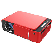 SHUHAN Video Projector T6 2000ANSI Lumens 1280P LCD Technology Mini Portable HD Theater Projector, Mobile Phone Version, Support HDMI, AV, VGA, USB Consumer Electronics