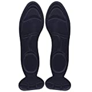Other High Heel Pads - 1 Pair Sole High Heel Foot Cushions Anti - Slip Insole Breathable Shoes Pad Soft Inserts Cutting DIY Adjustable Size Black