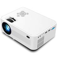 SHUHAN Video Projector TB612 2200ANSI Lumens 800x400 Resolution 1080P LED+LCD Technology Smart Projector, Support AV HDMI SD Card USB VGA TV Consumer Electronics