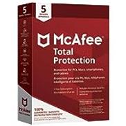 إجمالي حماية McAfee 2018 - 5 مستخدمين
