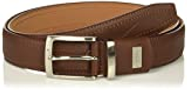 Nike Brown Leather Pebble Grain Belt