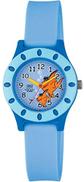 كيو أند كيو ساعة اطفال بمينا ازرق فاتح وبسوار بلاستيك - VQ13J005Y