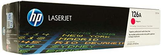 Hp Ce313a 126a Laserjet Magenta Toner Print Cartridge