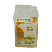 Organic Rice Flakes by Markal ,500gm Brown