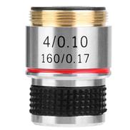 Akozon Achromatic Objectives Lens 4X 185 Biological Microscope Achromatic Objectives Lens 160 0.17