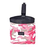 Other Pink Pet Dog Puppy Pouch Walking Food Treat Snack Bag Agility Bait Training Pockets Waist Storage Hold Food Container Bag