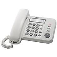 Panasonic KX-TS520 Corded Integrated Telephone - White