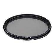 Andoer 82mm ND Fader Neutral Density Adjustable ND2 to ND400 Variable Filter for Canon Nikon DSLR Camera