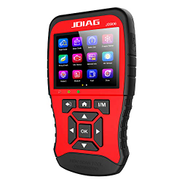 RuleaxAsi 1 Multi-function Large Screen Code Reader JD906 Enhanced Mode OBDII Scanner for Smog Check with Core Analysis