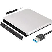 WANGXINQUAN 12.7mm USB 3.0 External Blu-ray Case for Laptop Desktop PC Optical Disk Drive Blu-ray Panel