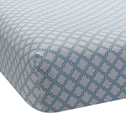 Lambs & Ivy Ryan Collection Fitted Sheet, Lattice