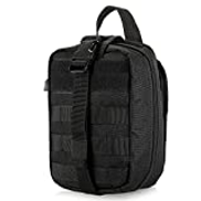 Lixada Outdoor MOLLE Medical Pouch First Aid Kit Utility Bag Emergency Survival First Responder Medic Bag