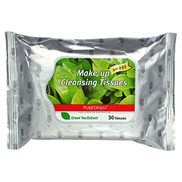 Purederm Make-up Cleansing Tissues - Green