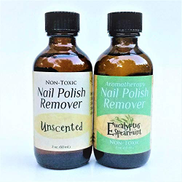 Marley Marie Naturals Nail Polish Remover - 2 oz Multi-scent bottles Eucalyptus Spearmint + Unscented
