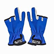 JY Fishing Gloves Skid proof, Waterproof, 3 Low-Cut Fingers Tackle Outdoor Hunting, Cycling Gloves