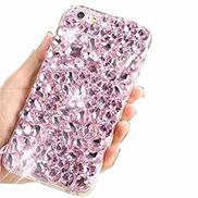 Mylne Sparkle Jewelry Case for Huawei P40 Lite,3D Handmade Stunning Stones Glitter Crystal Rhinestone Bling Full Diamond Shining Cover Bumper,Pink