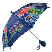 PJ Masks Boys' Little Character Rainwear Umbrella, Dark Blue, Age 3-6