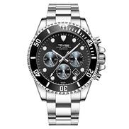 Lixada T823 Brand Men Watch Luxury Quartz Watch Sport Stainless Steel Clock Relogio Masculino for Gift
