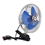 Other 8 Inch 12V 25W Portable Car Fan With Car Charger Two Speed