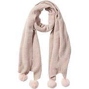 Tickled Pink Sara Chenille Cozy Scarf