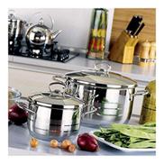 Korkmaz Estra Trio Cooking Pot Set - 6 Pcs A1803