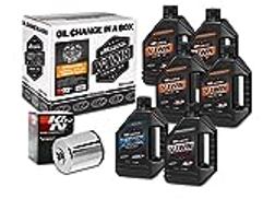 Maxima Racing Oils Chrome Maxima 90-069016C Evolution Mineral 20W-50 Filter Complete Oil Change Kit، 192. FluidOunces