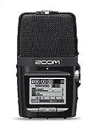 Zoom H2n Handy Recorder مسجل الصوت الرقمي المحمول