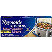 Reynolds Kitchens Premium Slow Cooker Liners - 13 x 21 Inch, 6 Count
