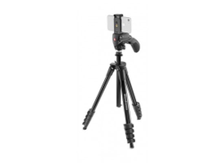 MANFROTTO Manfrontto Compact Action Smart with Hybrid Head and Phone Clamp - Black