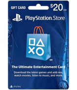 PlayStation Network USA Store - 20 USD